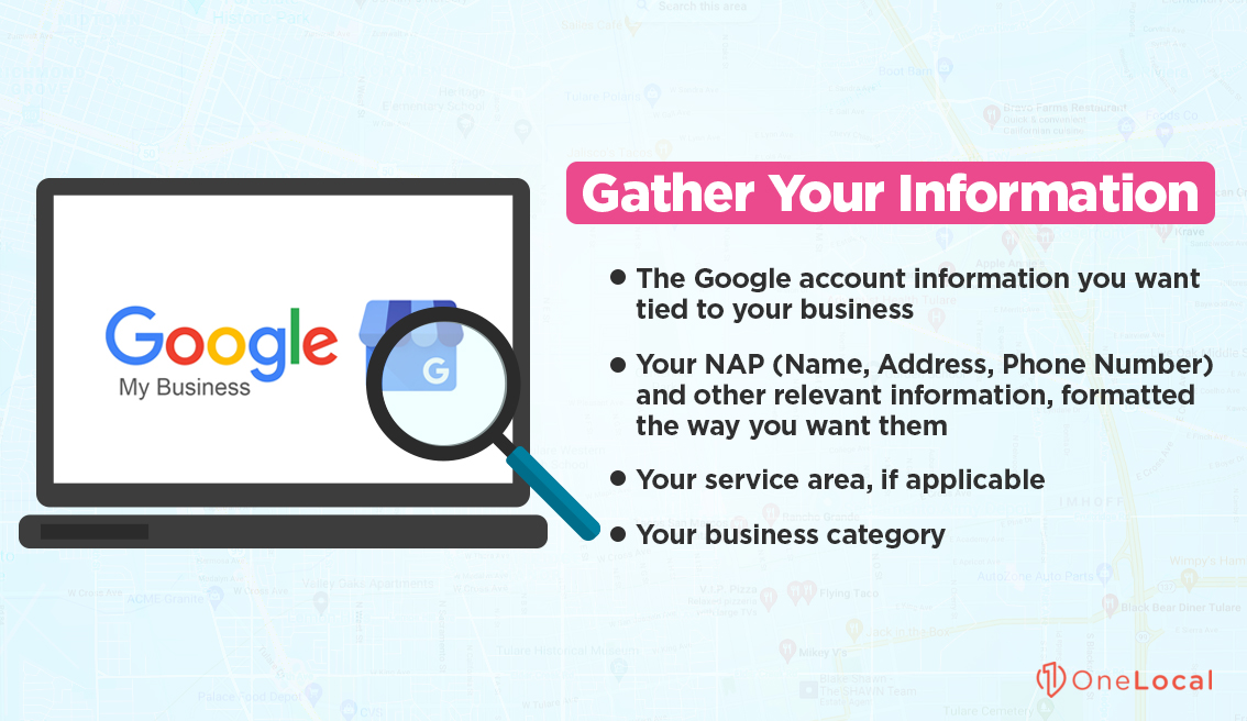 Gather Your Information