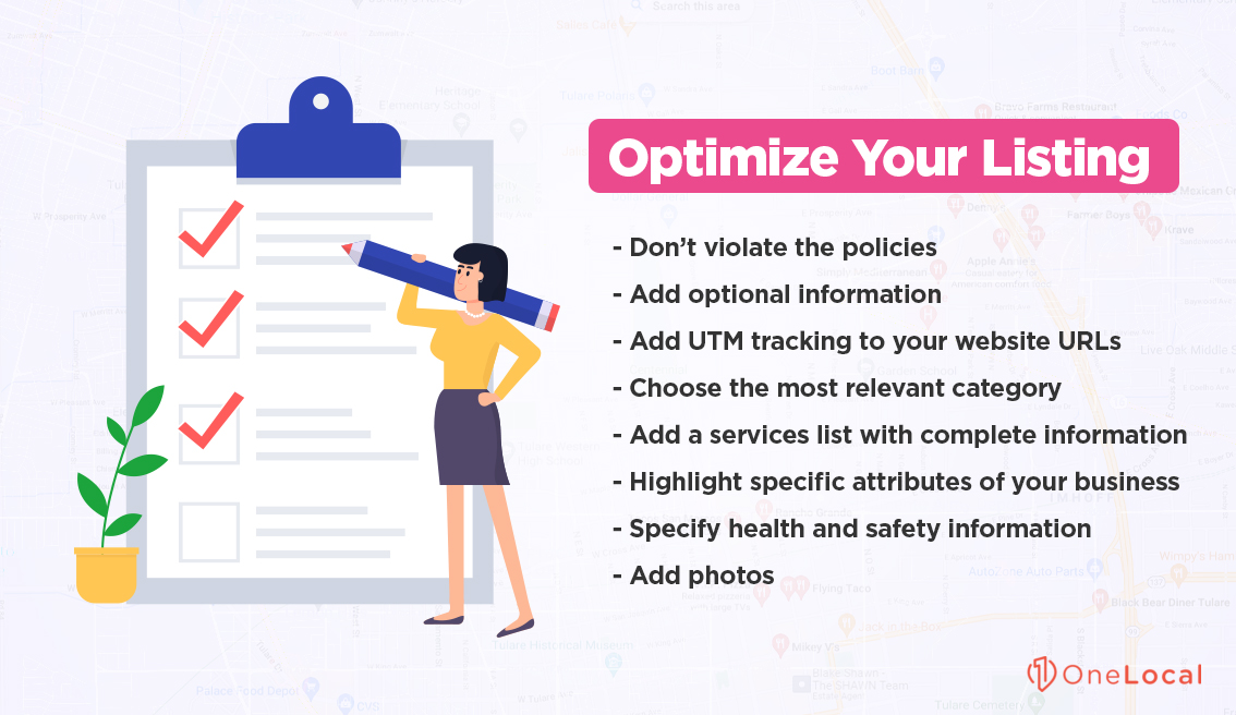 Optimize Your Listing