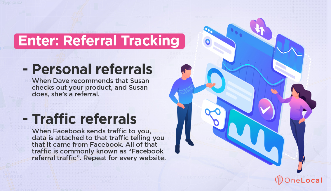 Referral Tracking Examples